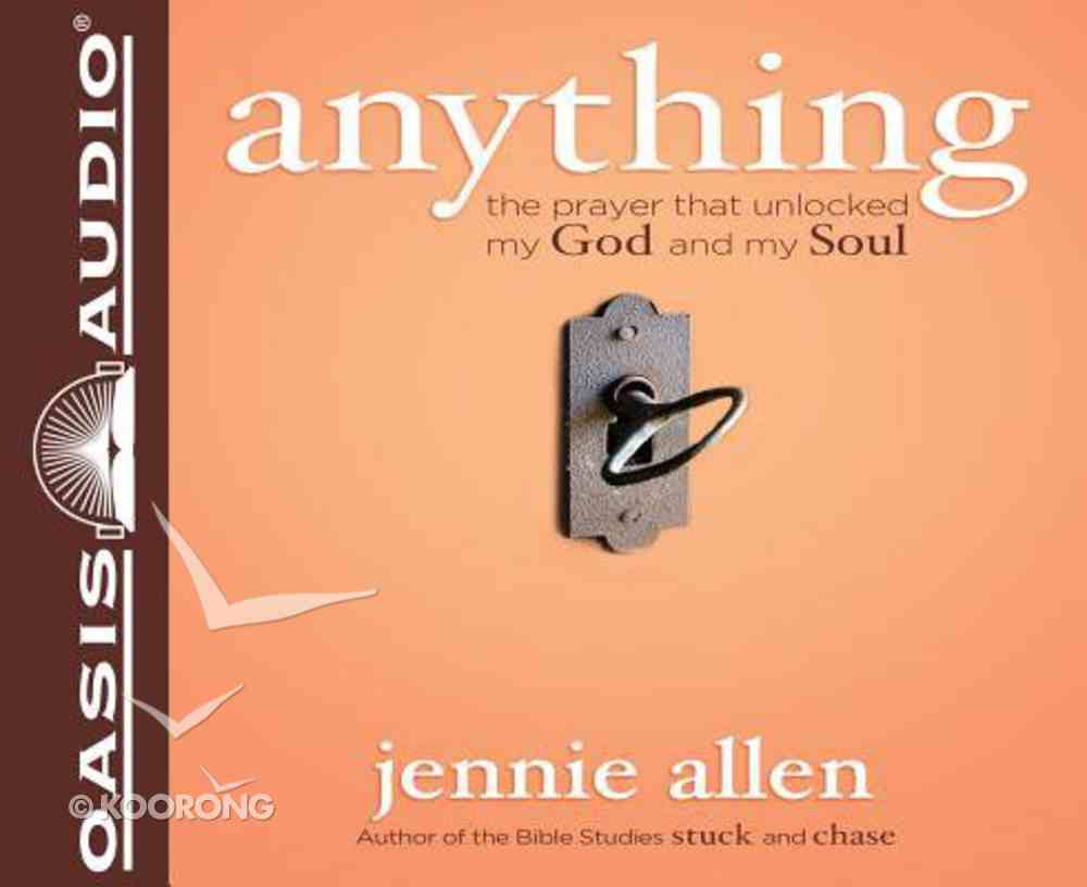 Anything (Unabridged, 5 Cds) CD