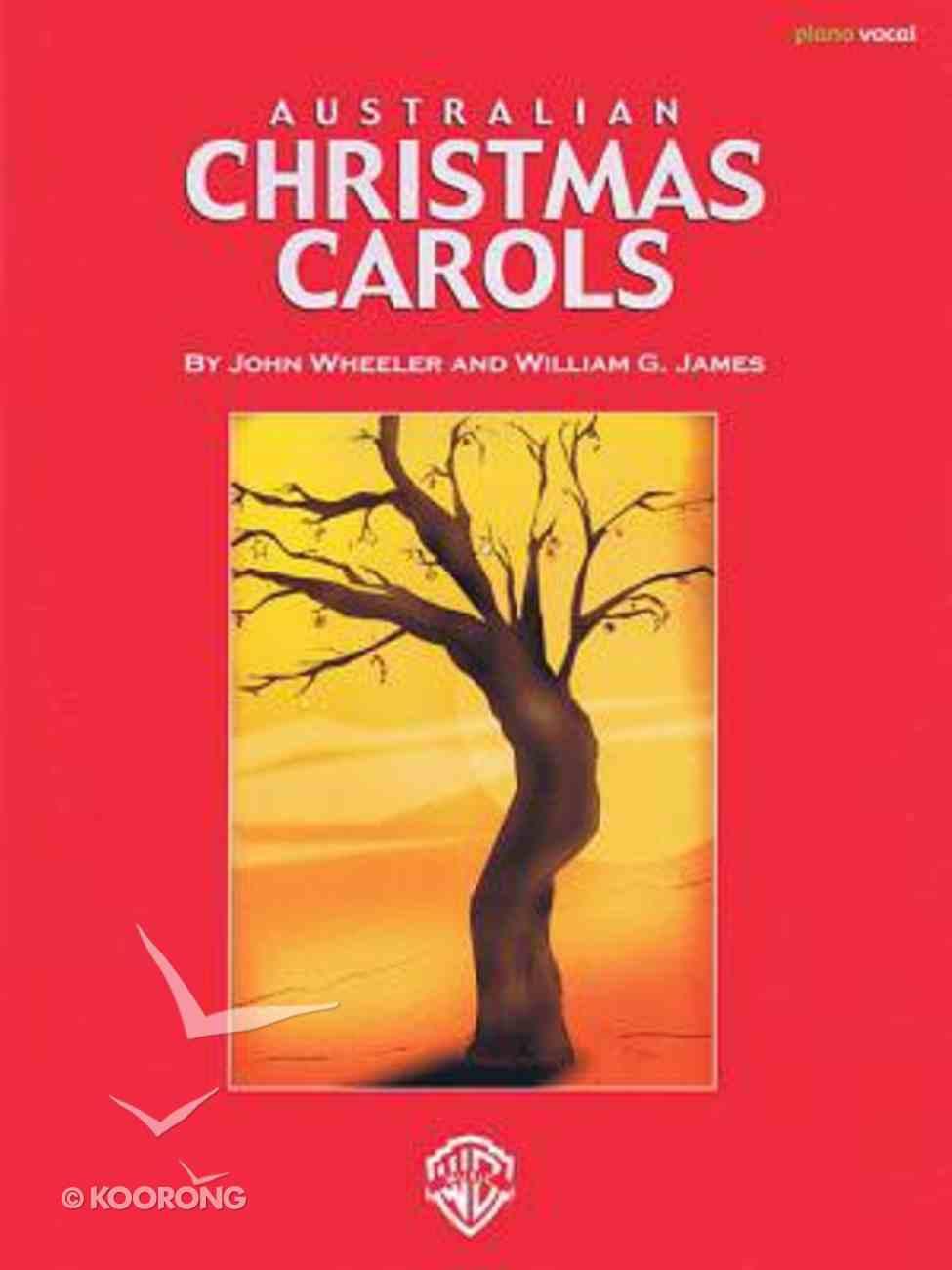 Australian Christmas Carols Sets 1-3 Complete (Music Book) Paperback