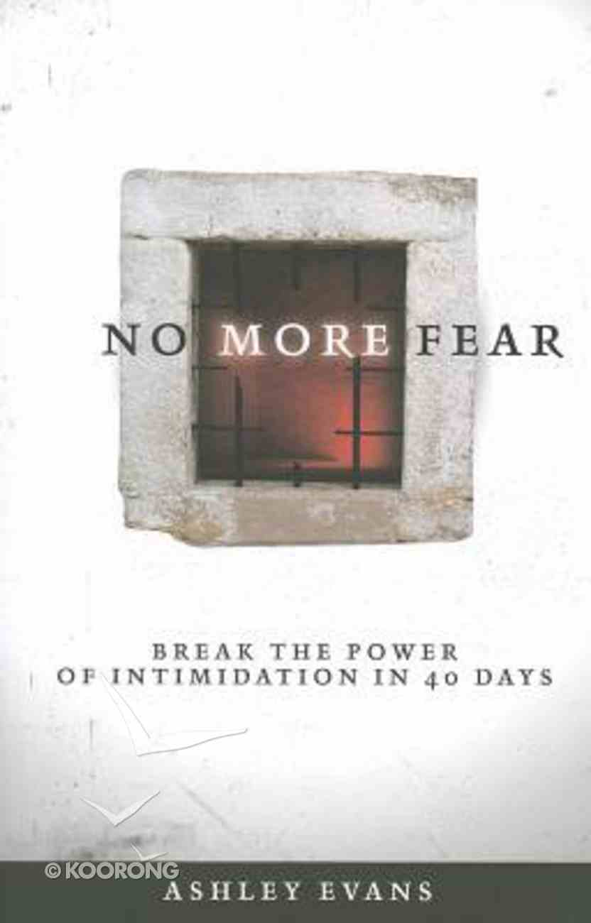 No More Fear Paperback