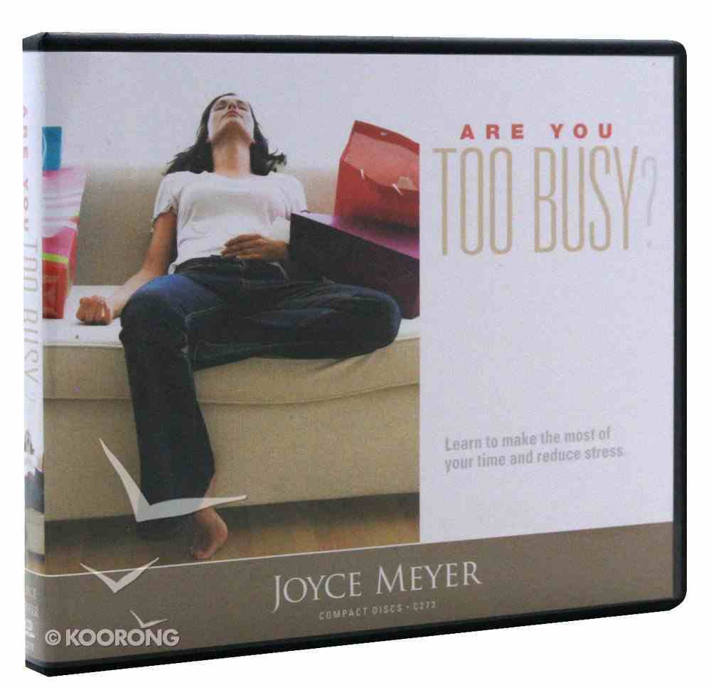 Are You Too Busy? (4 Cds) CD