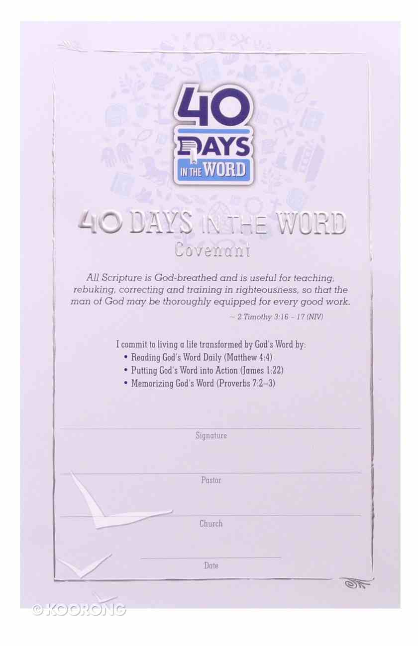 40 Days in the Word: Covenant Cards (25 Pack) Cards