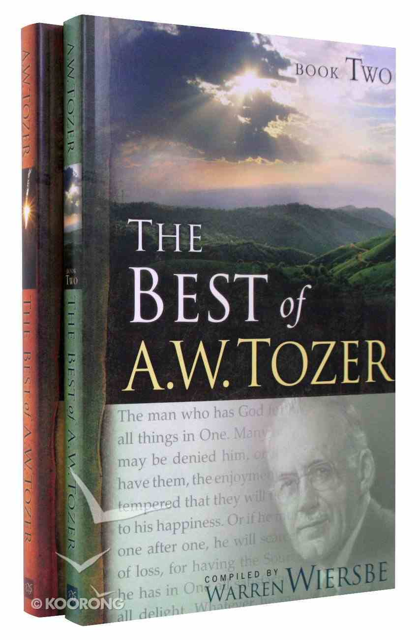 Best of a W Tozer 2-Pack (2 Vols) Pack