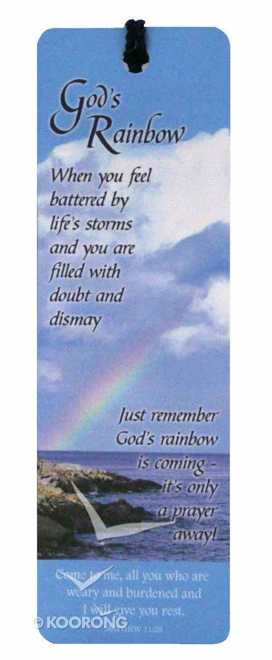 Bookmark With Tassel: God's Rainbow Stationery