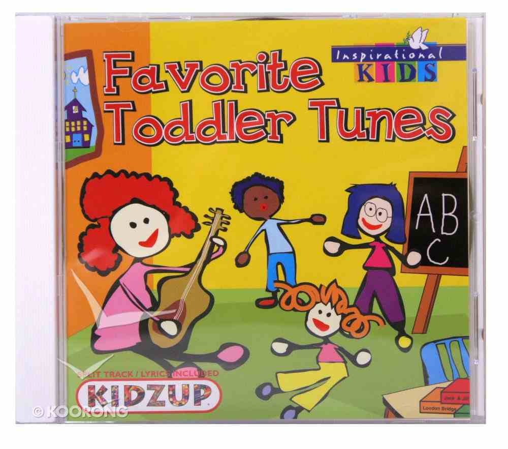Favourite Toddler Tunes CD