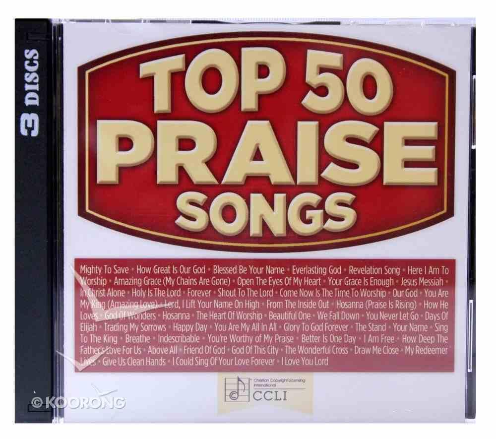 Top 50 Praise Songs (3cds) CD