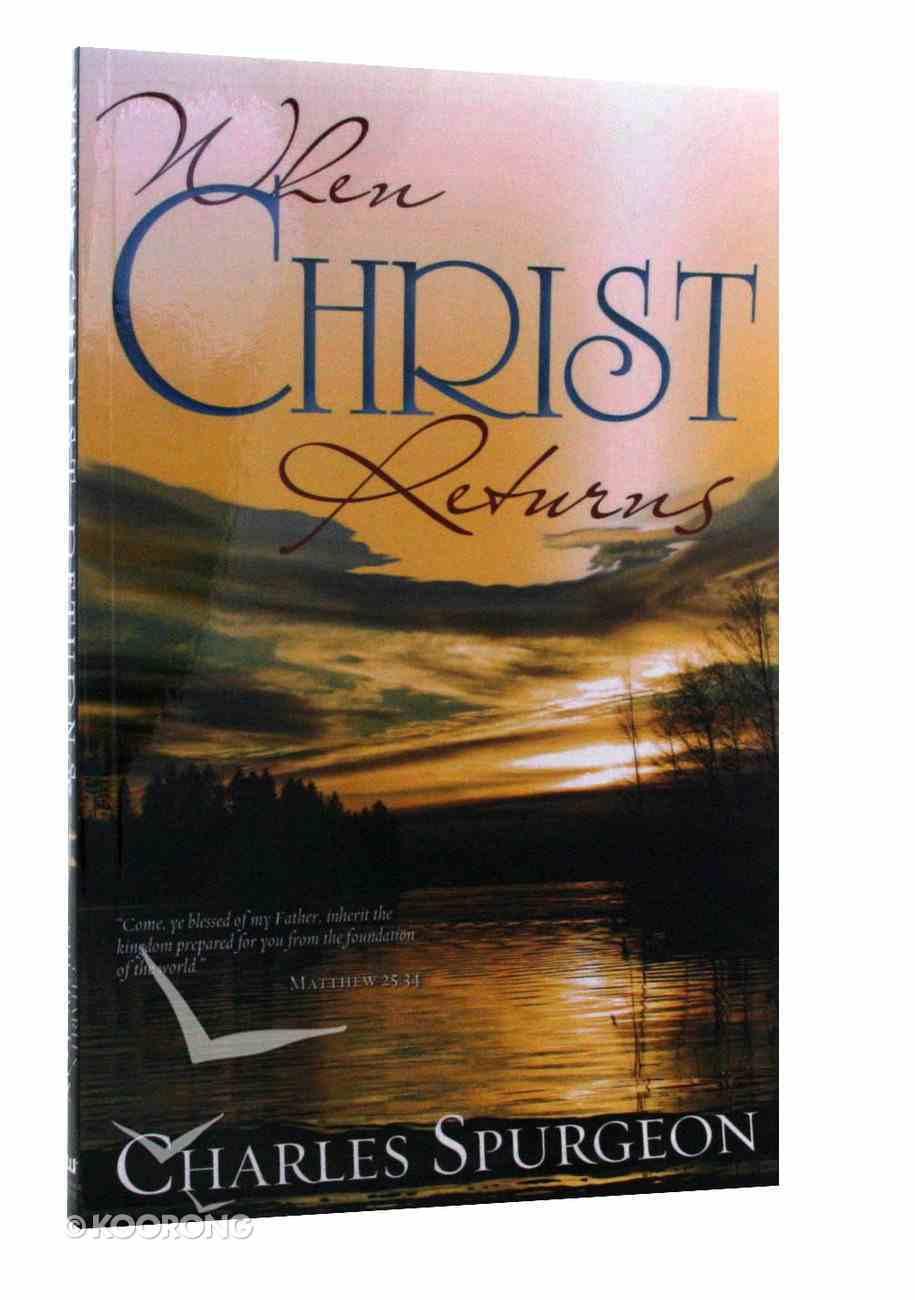 When Christ Returns Paperback