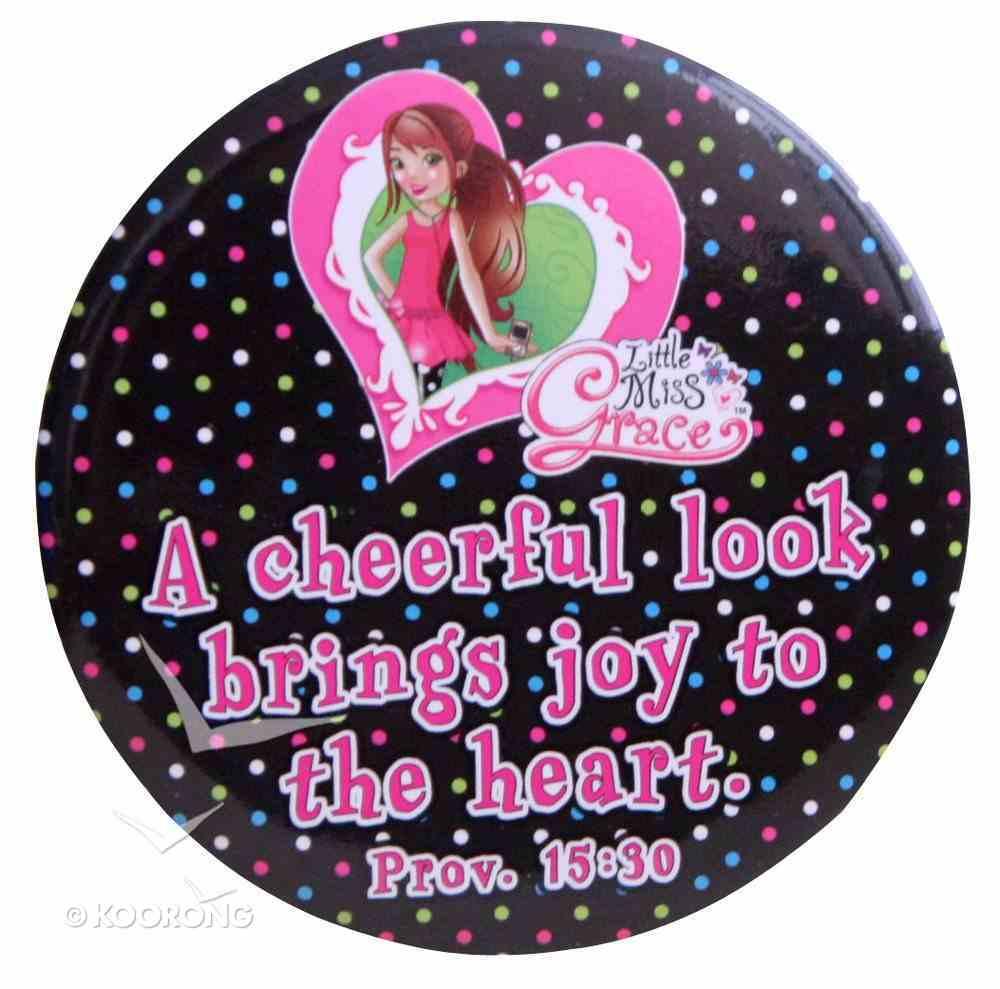 Pocket Mirror: A Cheerful Look Brings Joy to the Heart (Little Miss Grace) Homeware