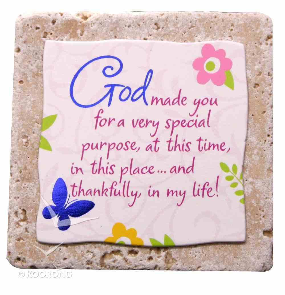 Sentiment Tiles: God/Purpose Plaque