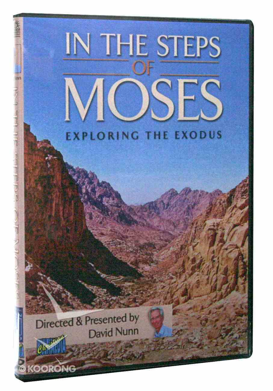 In the Steps of Moses DVD
