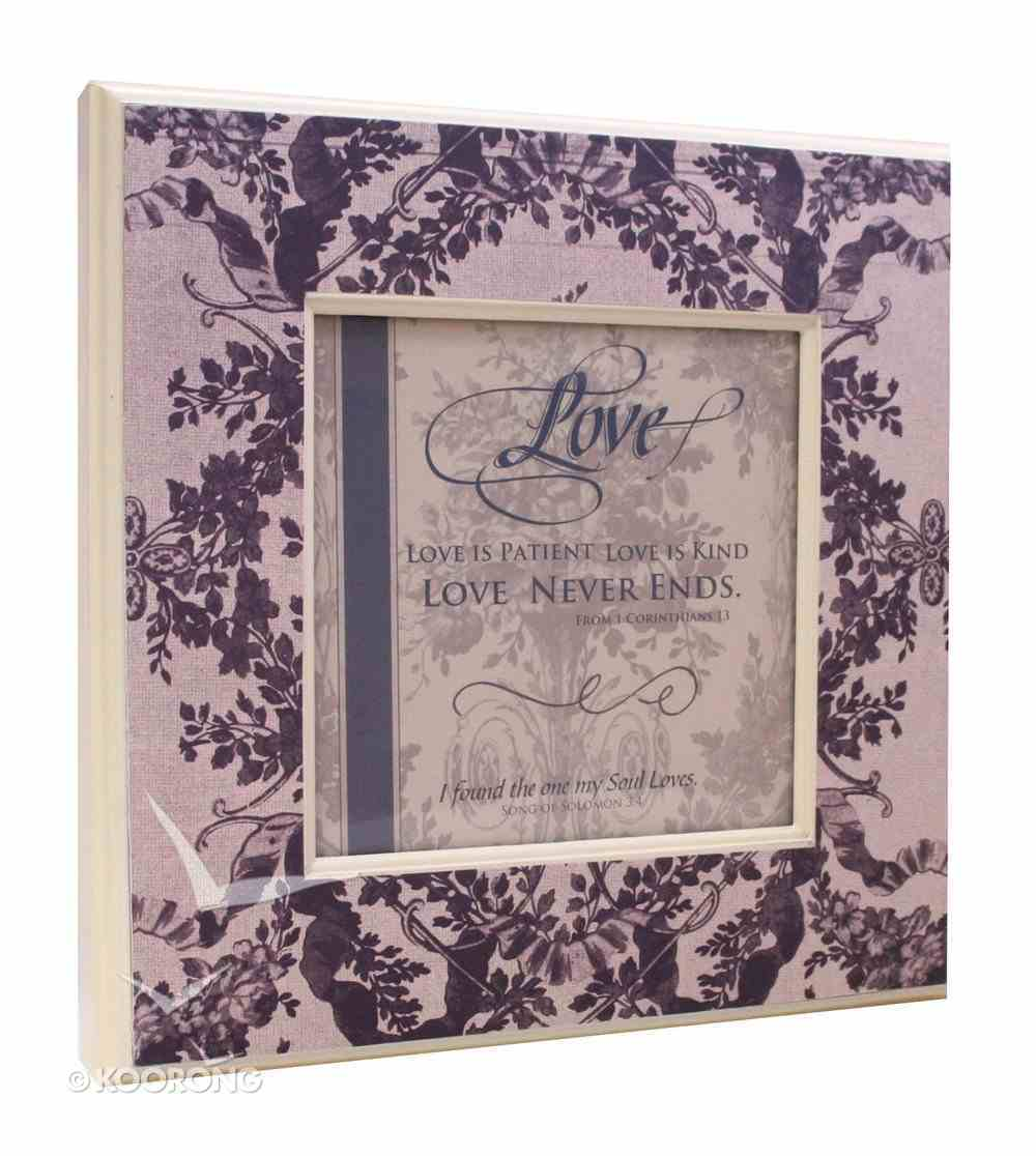 Boxed Giftable: Love Song of Solomon 3:4 Plaque