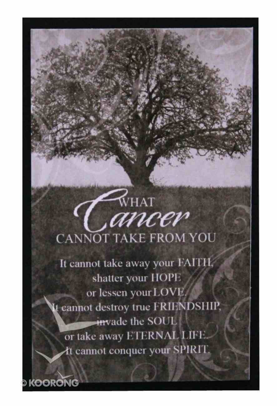 Hope Collection: Magnet - Cancer Black & White Novelty