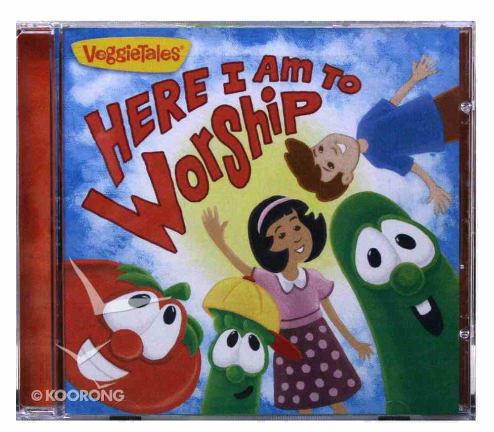 Veggie Tales: Here I Am to Worship CD