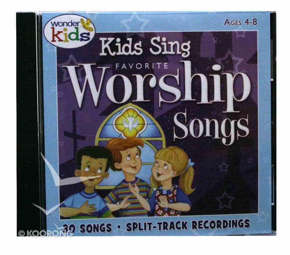 Kids Sing Favourite Worship Songs (Vol 1) CD