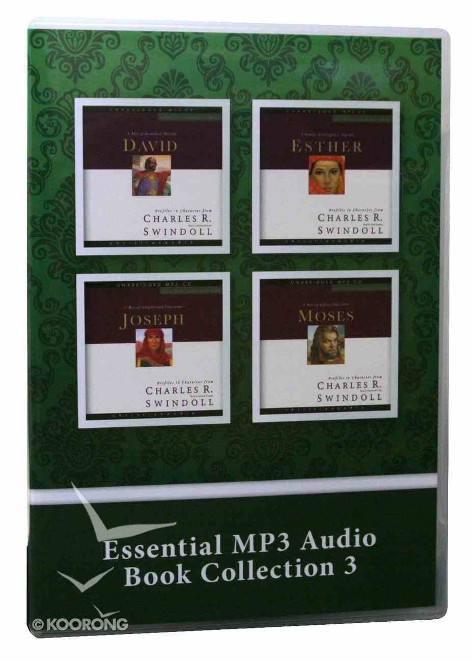 Great Lives From God's Word: David, Esther, Joseph, Moses (#03 in Essential Mp3 Audio Collection) CD