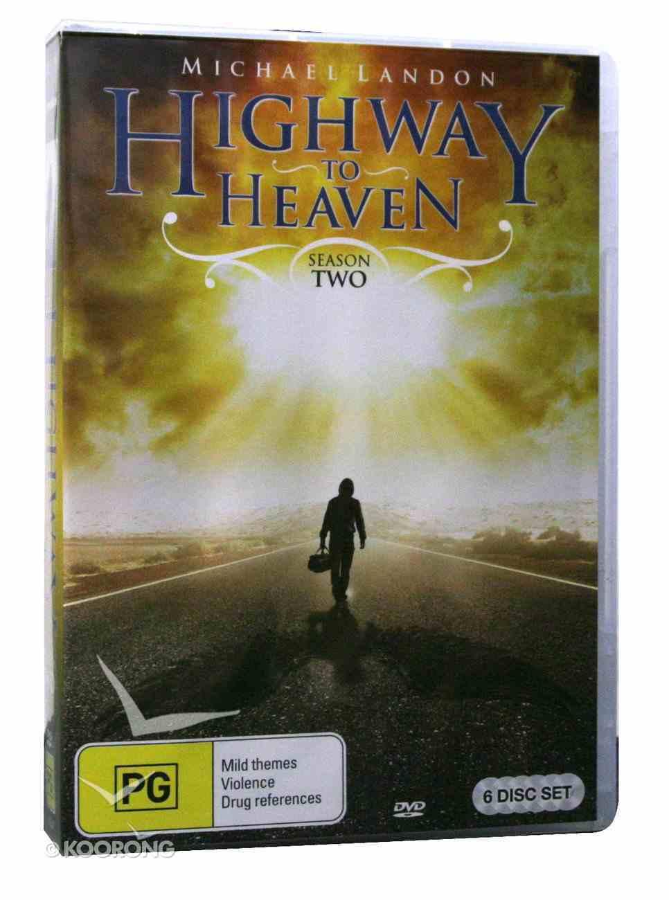 Highway to Heaven - Season 2 (7 Discs) (Highway To Heaven Series) DVD