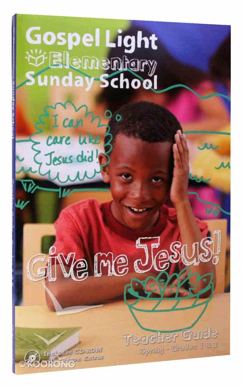 Gllw Spring a 2020 Grades 1 & 2 Teacher Guide (Gospel Light Living Word Series) Paperback