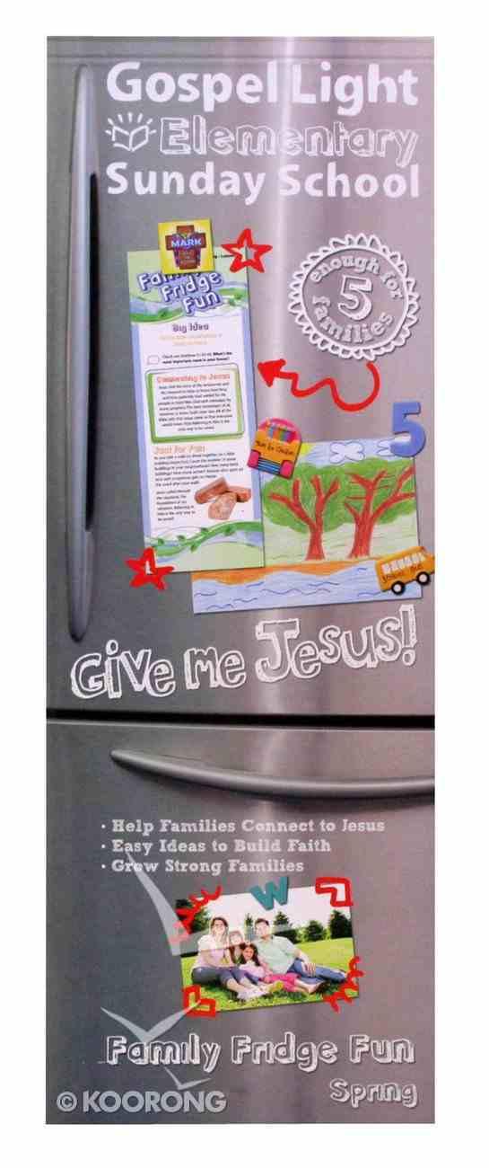 Family Fridge Fun (Gospel Light Living Word Series) Paperback