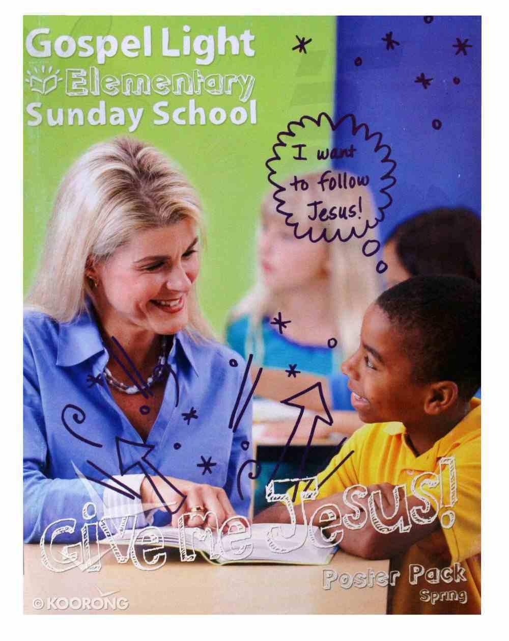 Spring a 2020 Grades 1 & 2 Poster Pack (Gospel Light Living Word Series) Poster