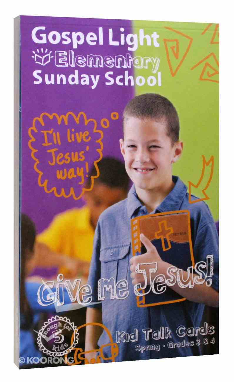 Student Talk Cards (Gospel Light Living Word Series) Paperback