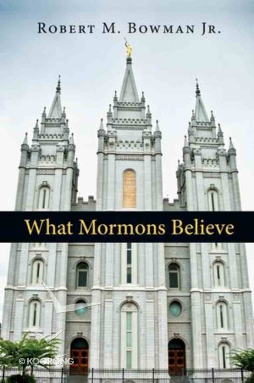 What Mormons Believe Paperback