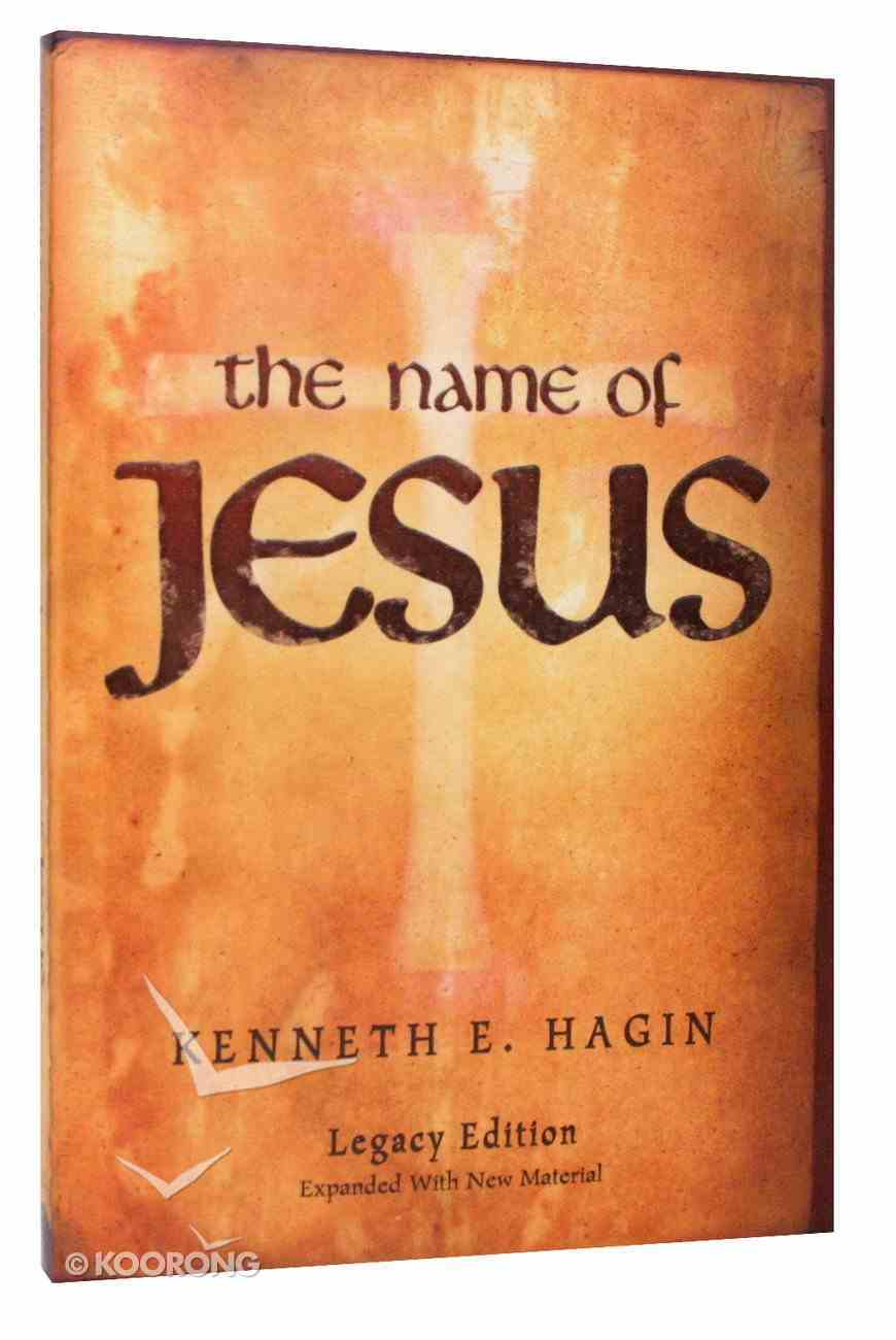 The Name of Jesus (Legacy Edition) Paperback