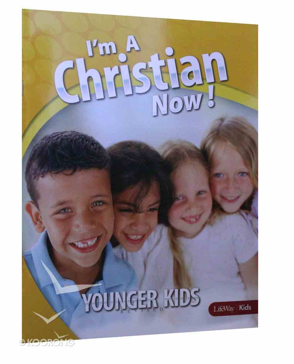 I'm a Christian Now (Grades 1-3) (Younger Kids) Paperback