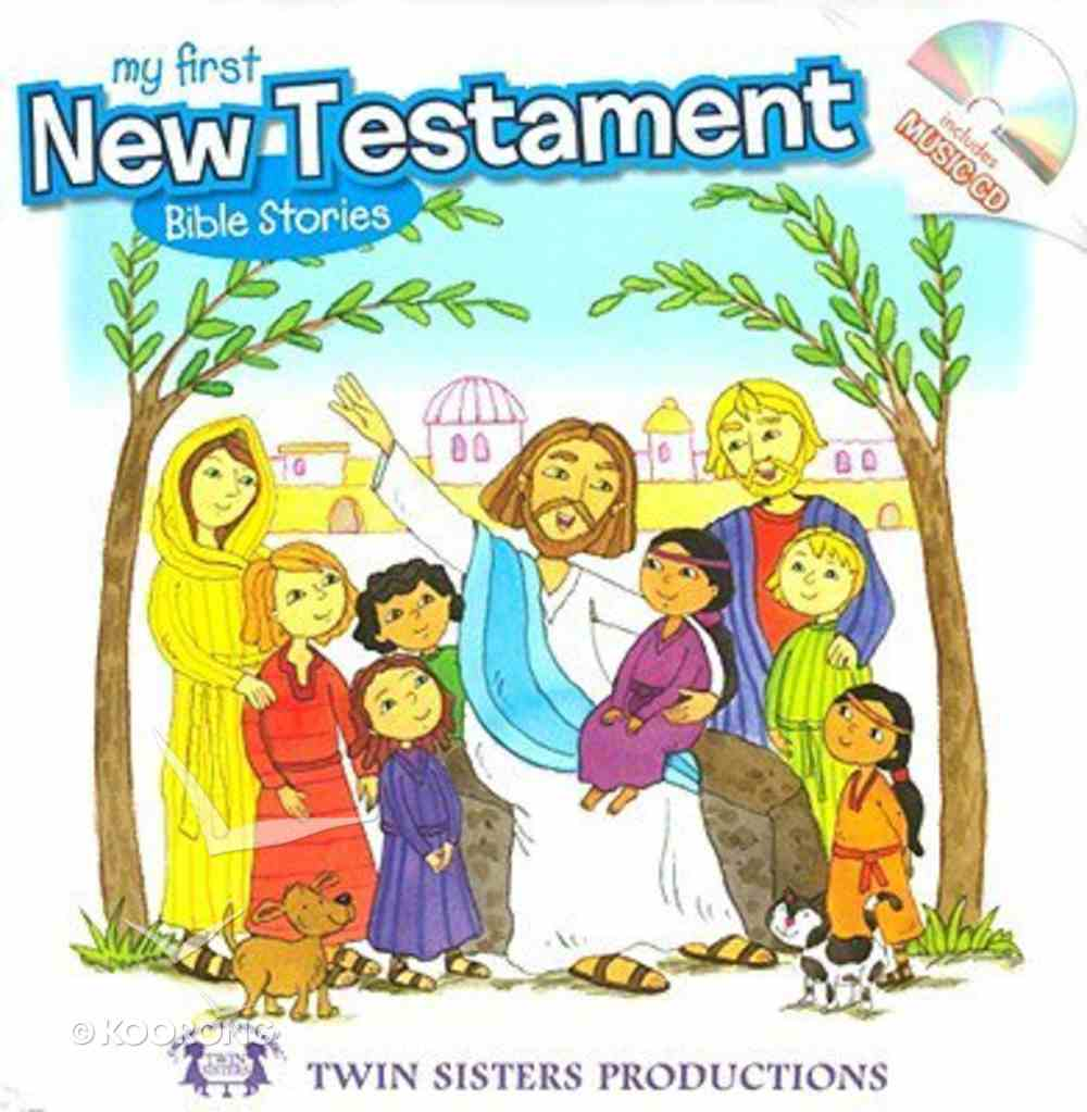 My First New Testament Bible Stories Board Book