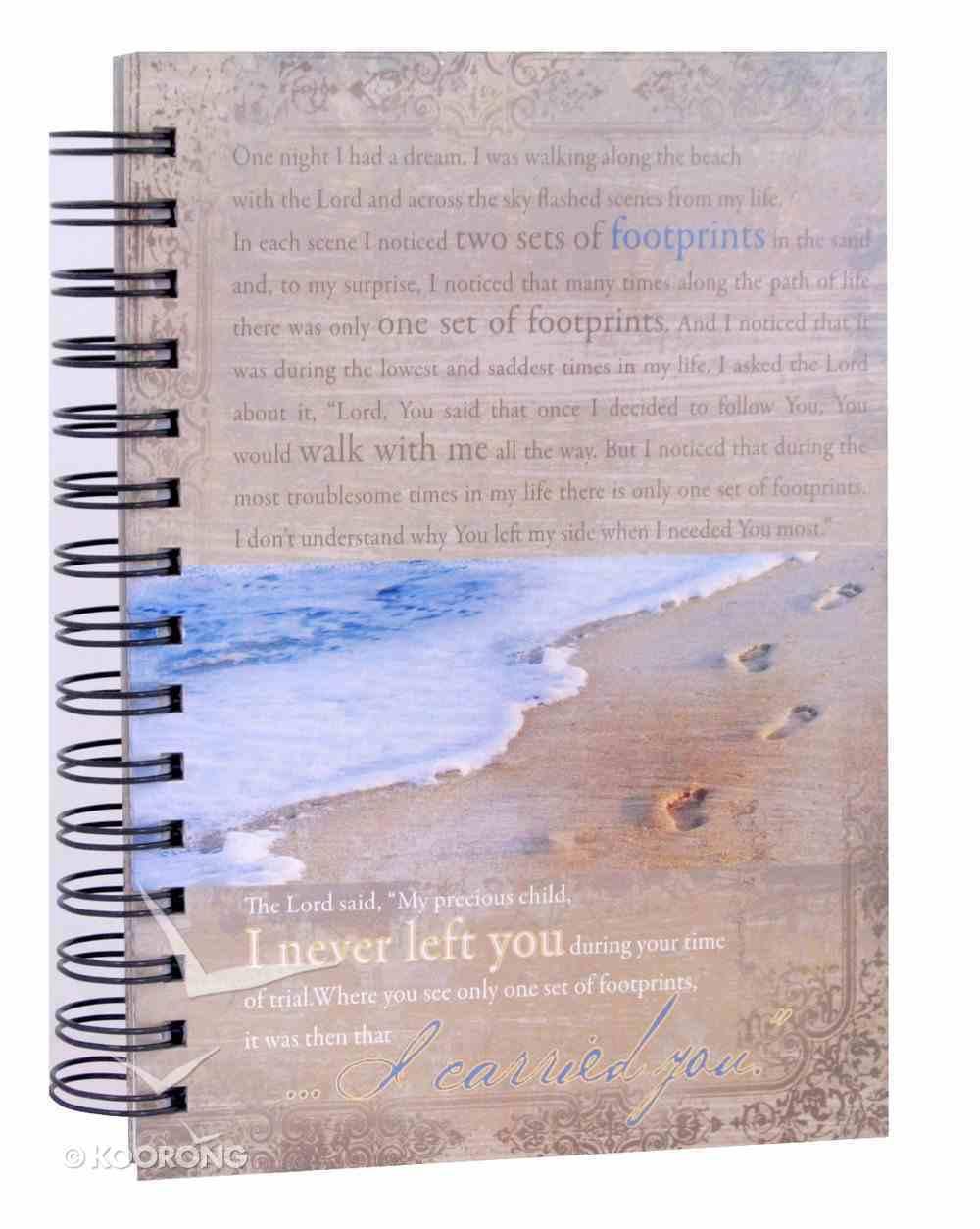Journal: Footprints Spiral
