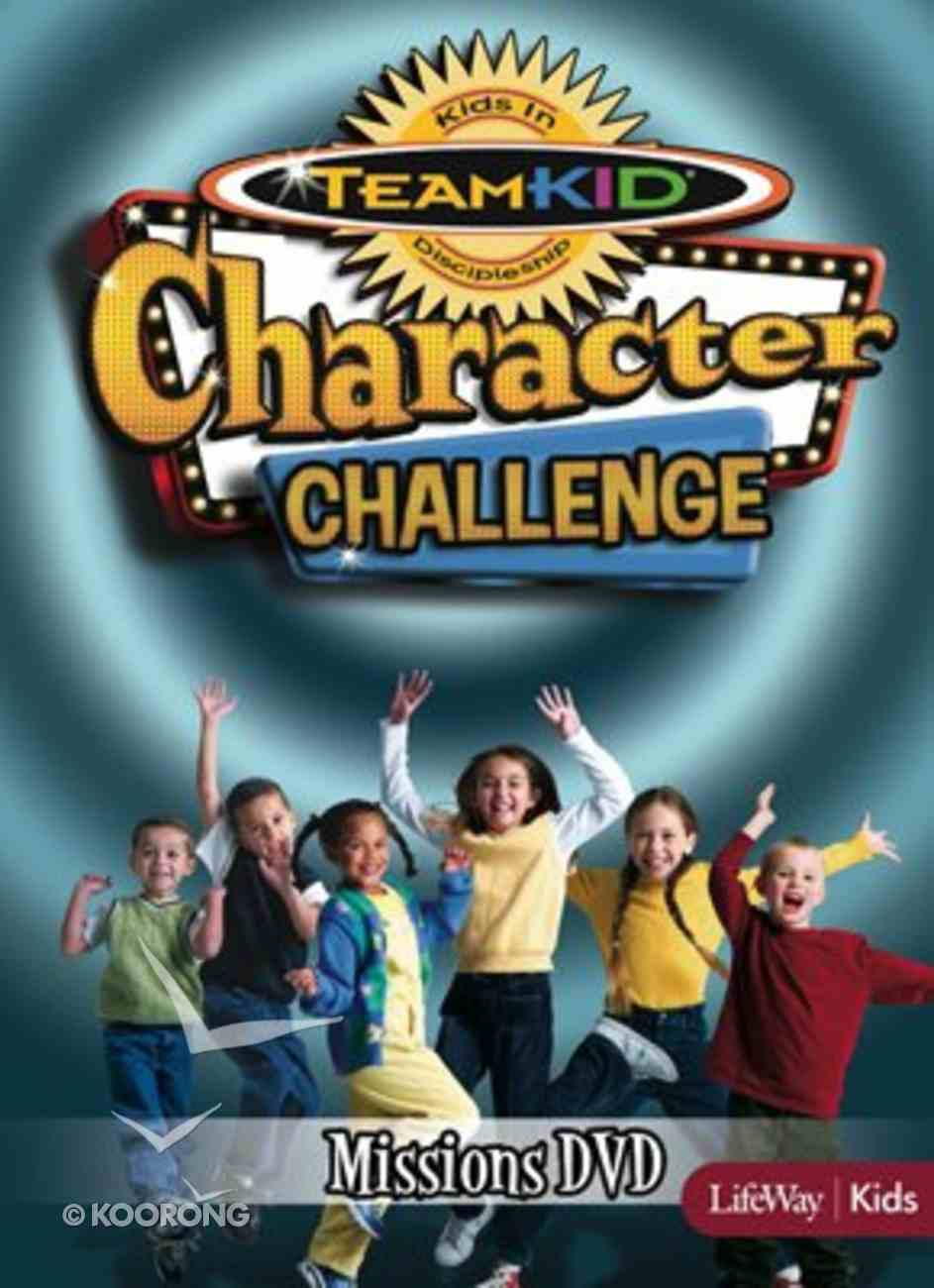 Character Challenge Mission (Teamkid Series) DVD