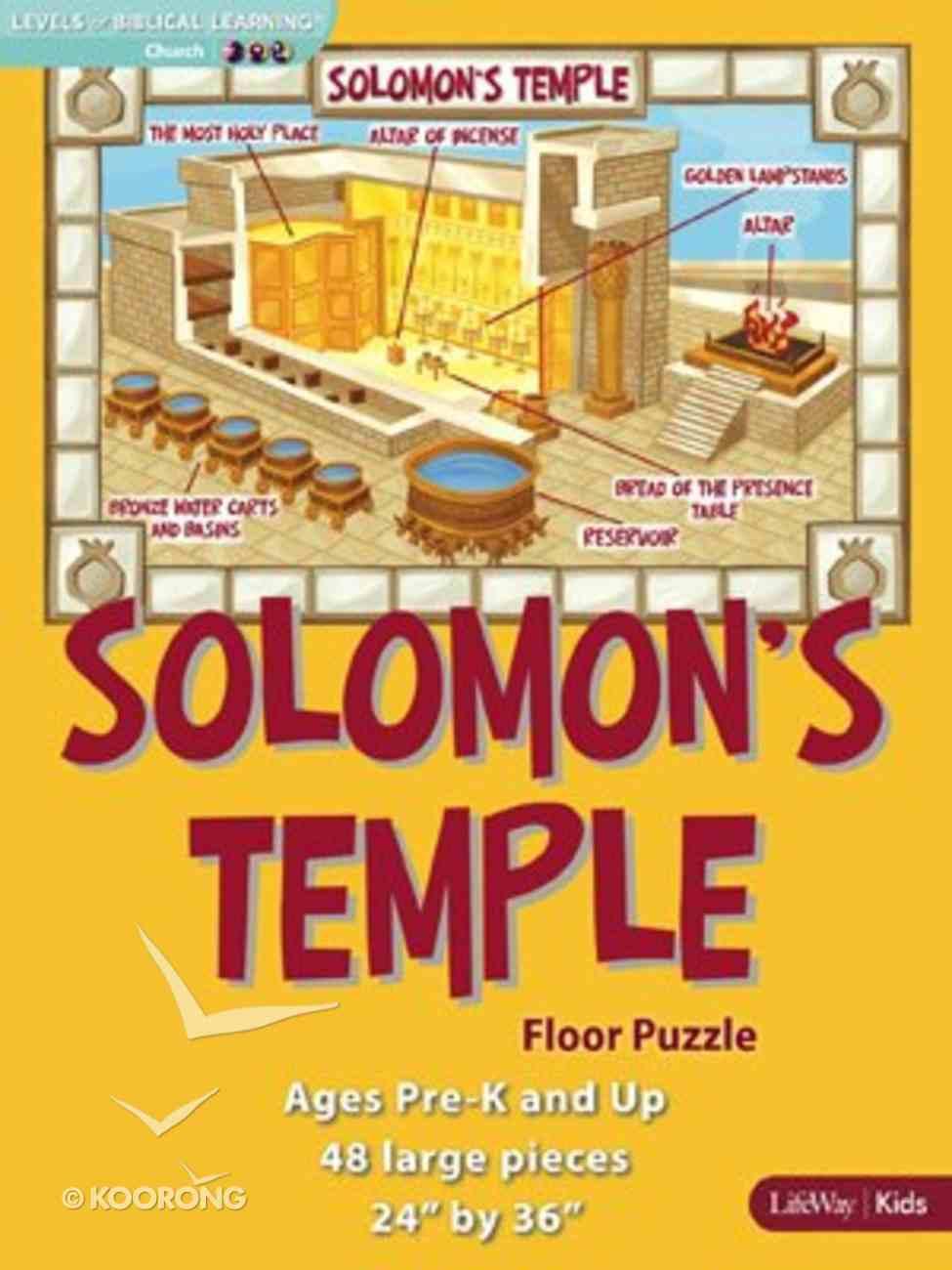 Solomon's Temple Floor Puzzle Game