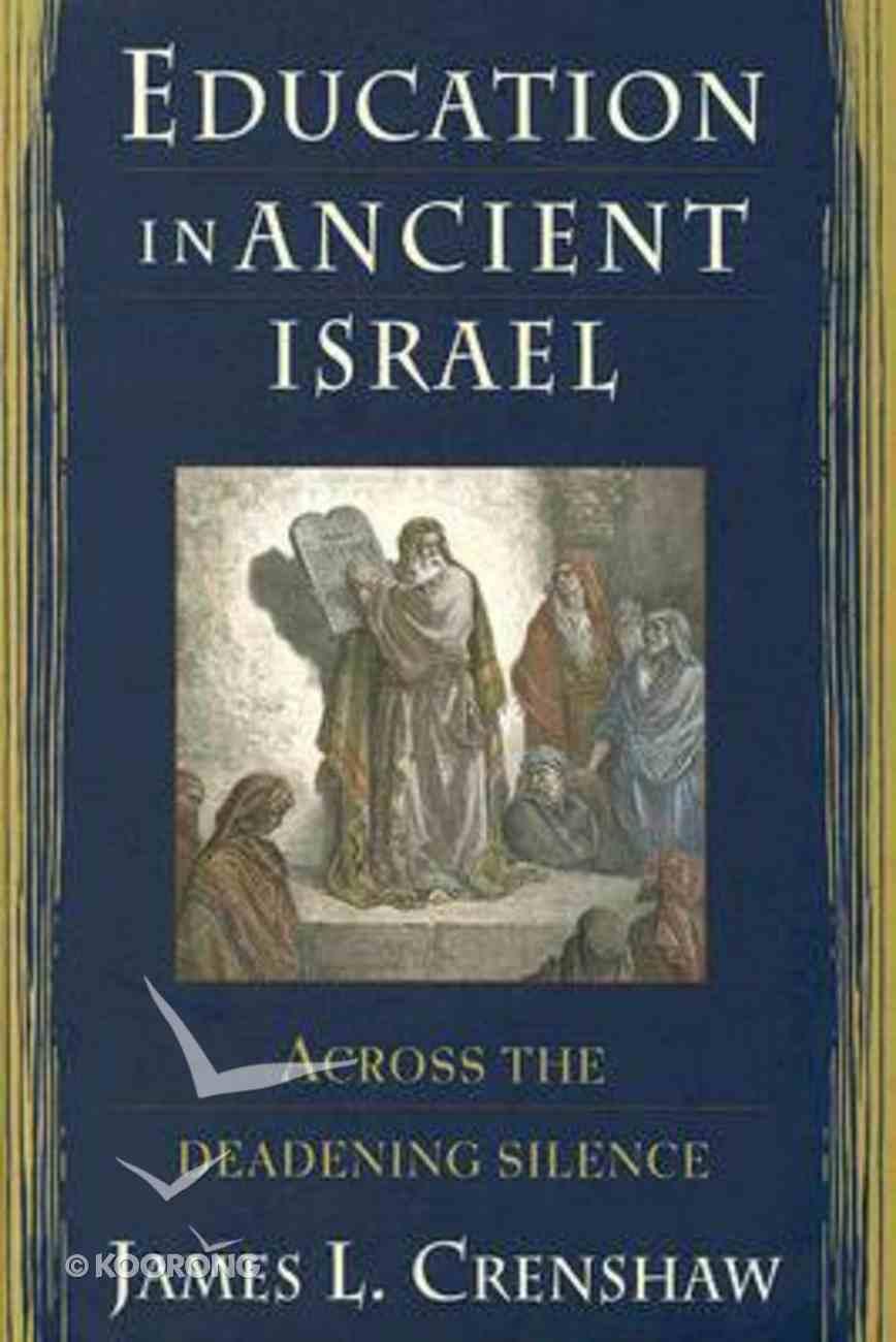 Education in Ancient Israel Hardback
