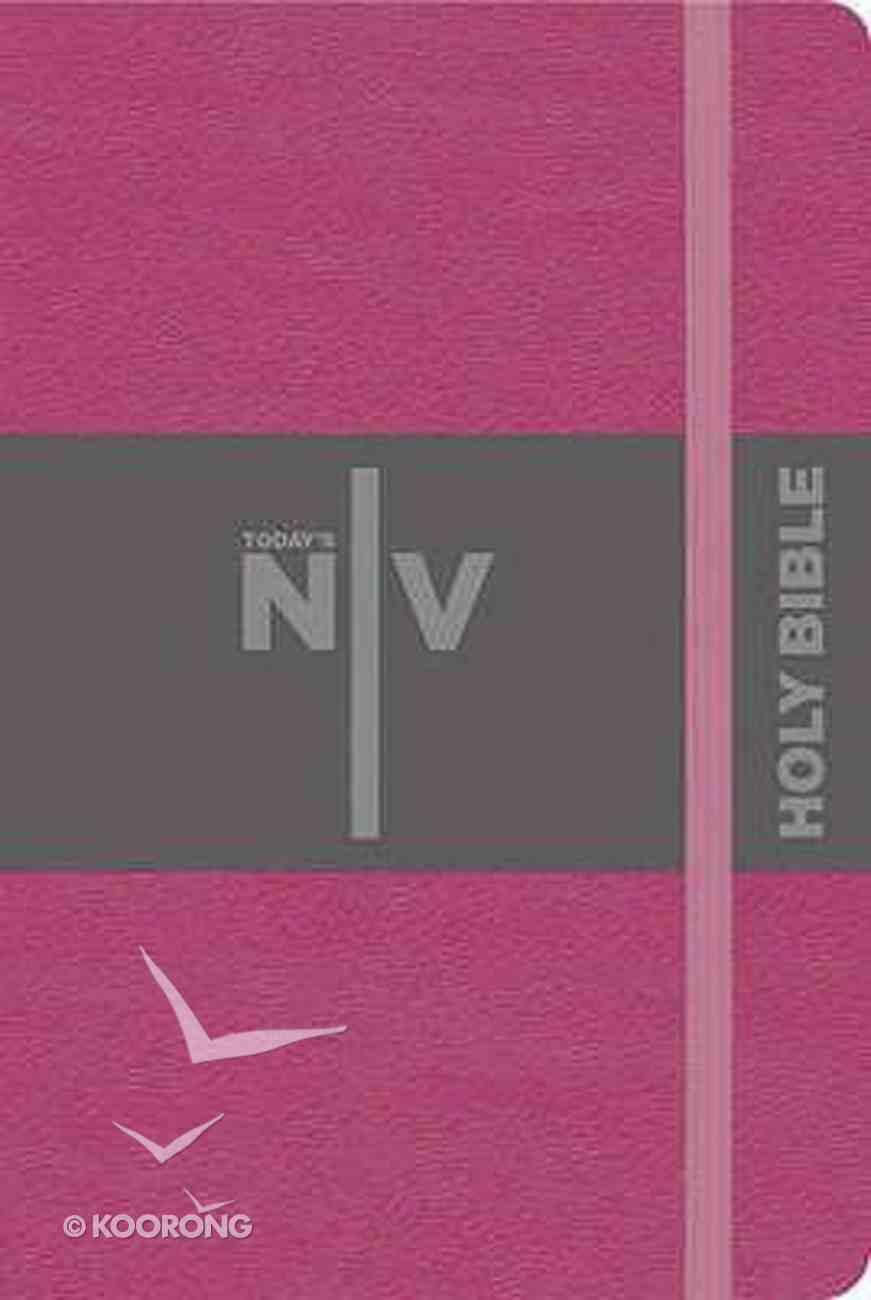 TNIV Pocket Notebook Bible Pink Hardback