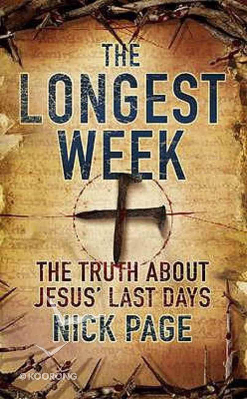 The Longest Week Hardback