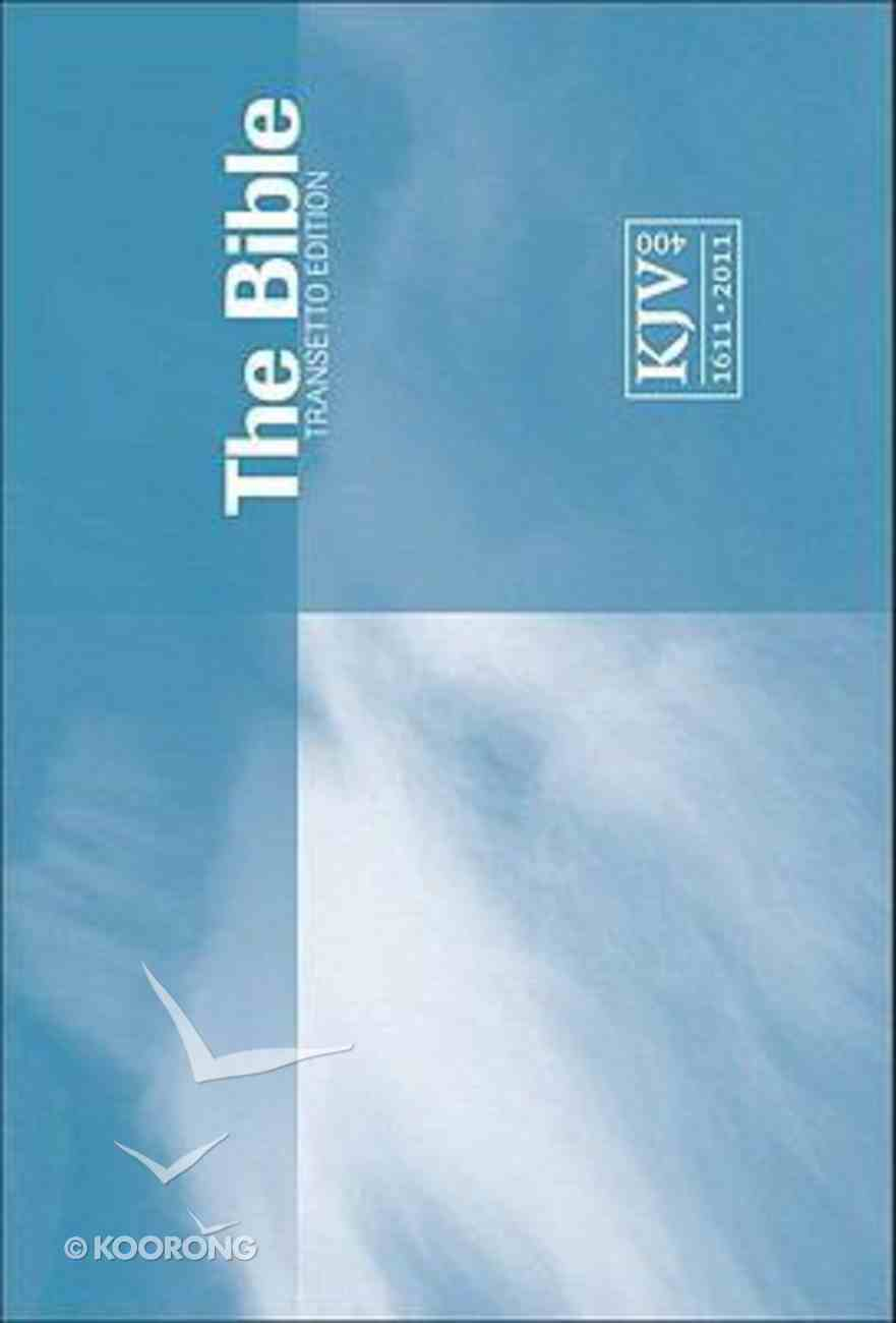 KJV Transetto Text Edition Blue Paperback