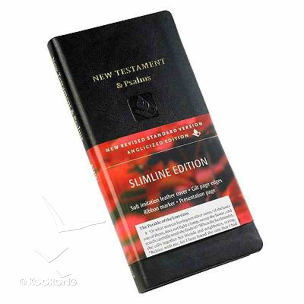 NRSV Slimline New Testament and Psalms Anglicised Edition Black Imitation Leather