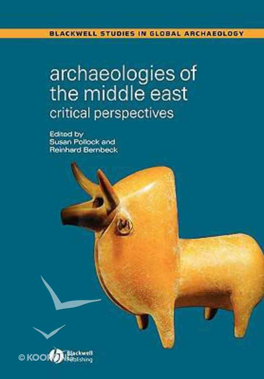 Archaeologies of the Middle East Paperback
