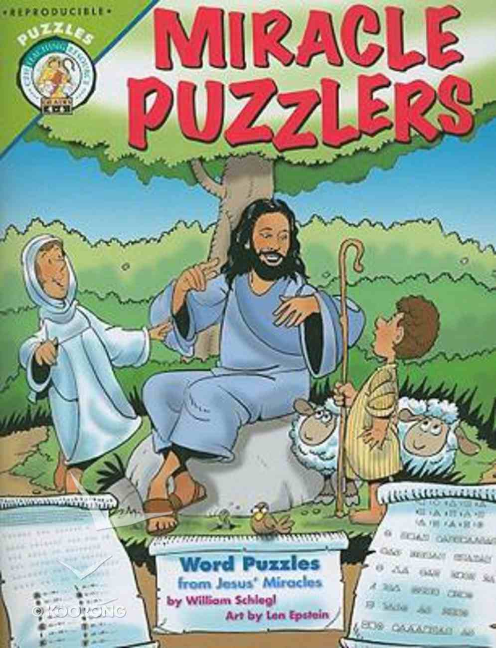 Miracle Puzzlers: Word Puzzles From Jesus' Miracles Paperback