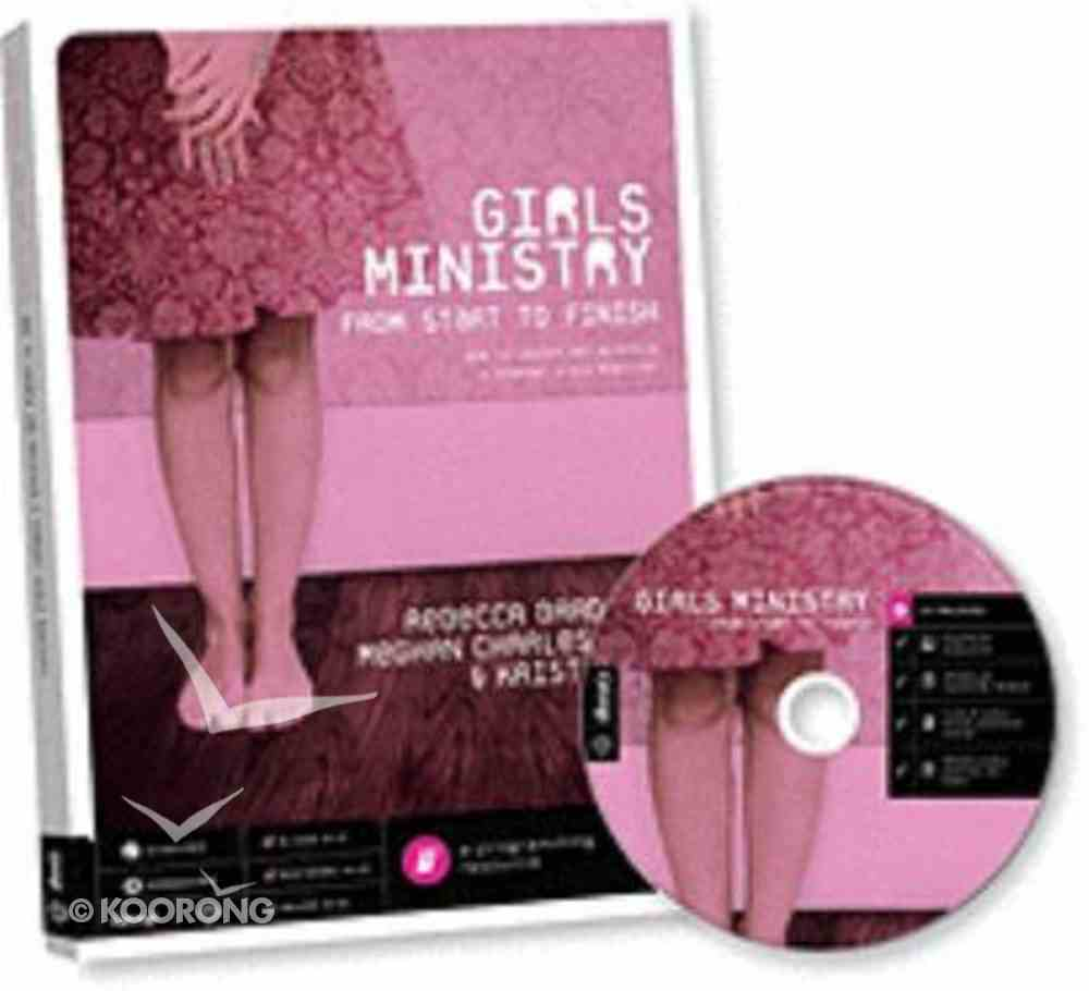 Girls Ministry: From Start to Finish (Includes Cd) Paperback
