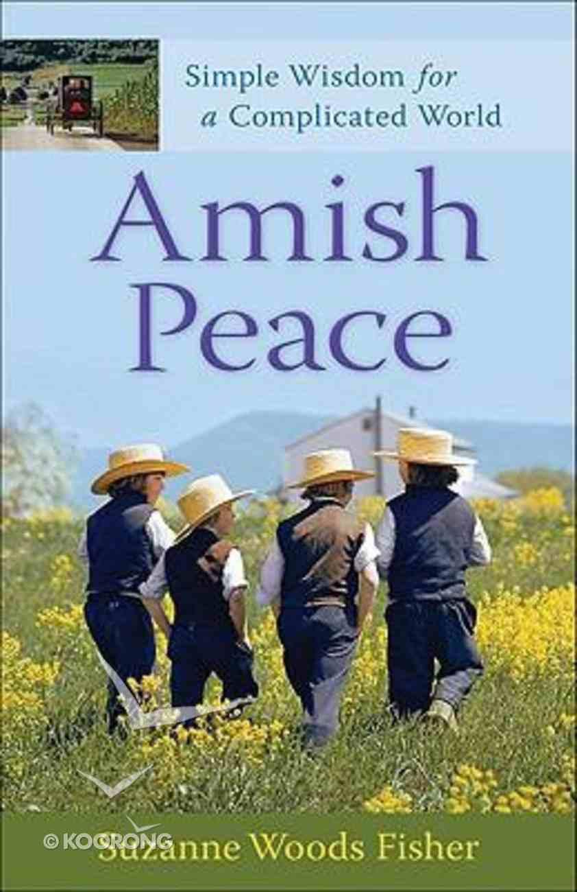 Amish Peace Paperback