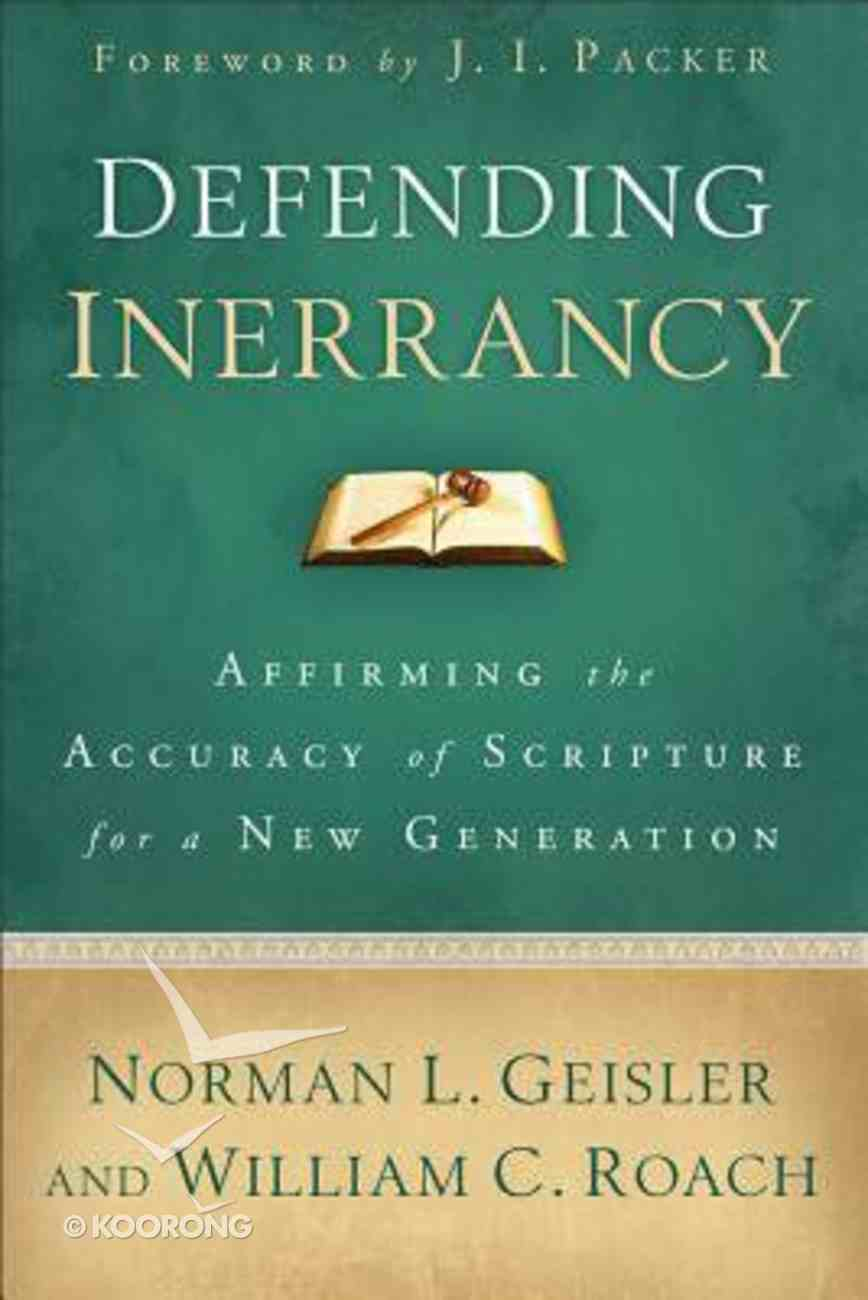 Defending Inerrancy Paperback