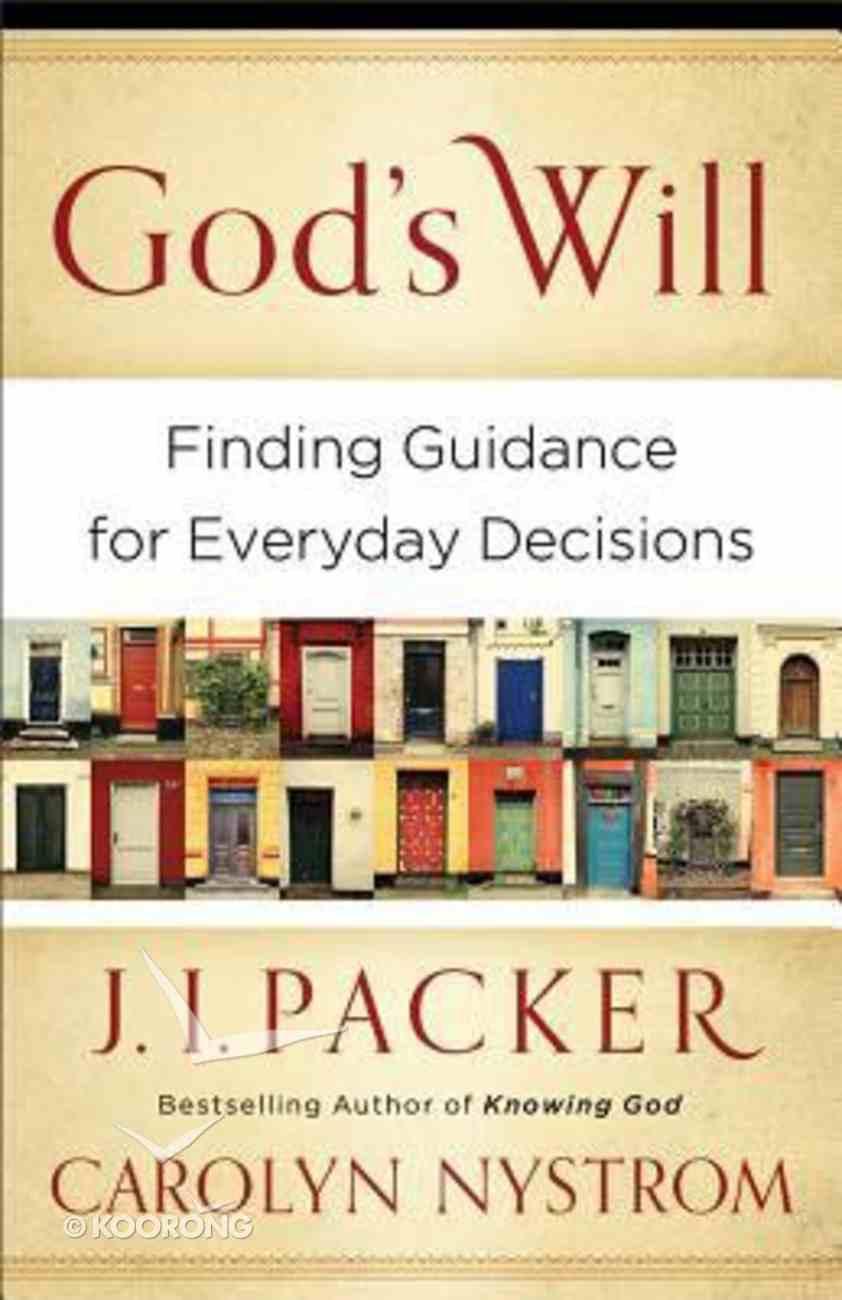 God's Will Paperback