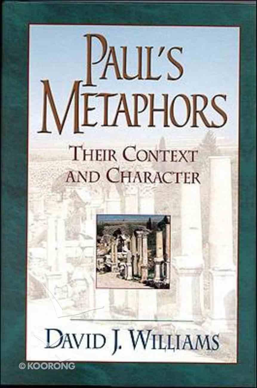 Paul's Metaphors Paperback