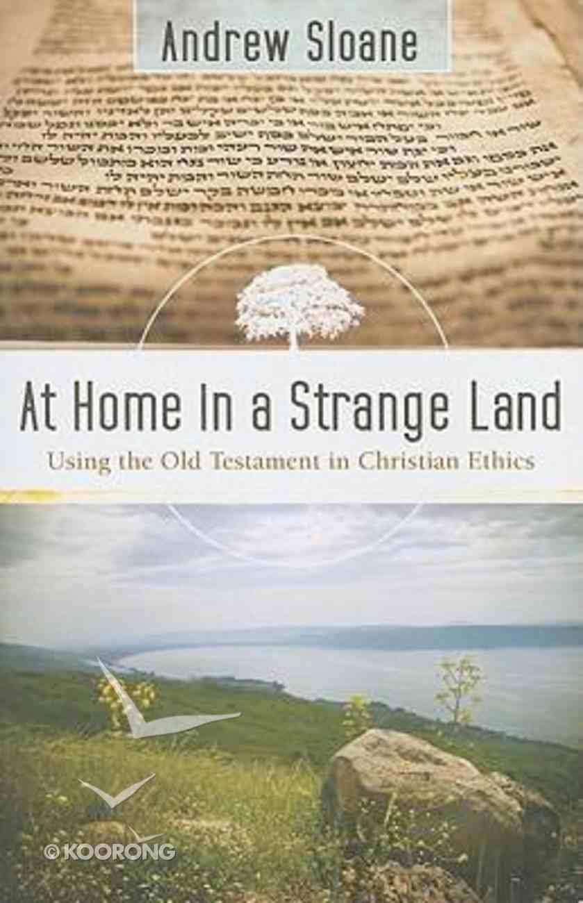At Home in a Strange Land Paperback