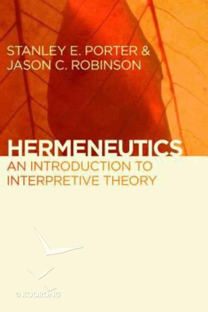 Hermeneutics Paperback
