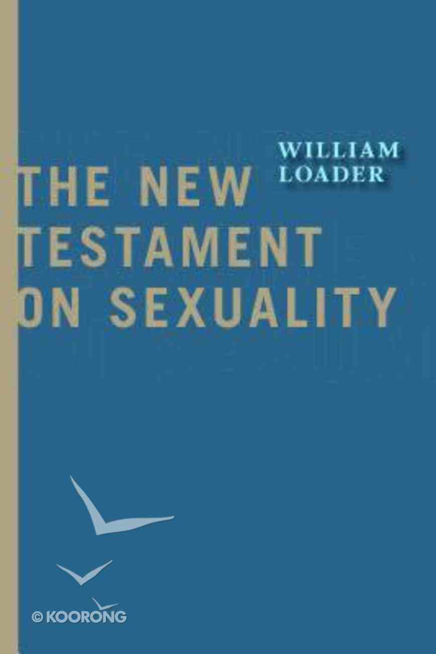 The New Testament on Sexuality Paperback