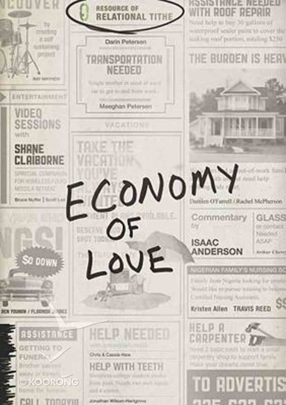 Economy of Love (With Dvd) Paperback