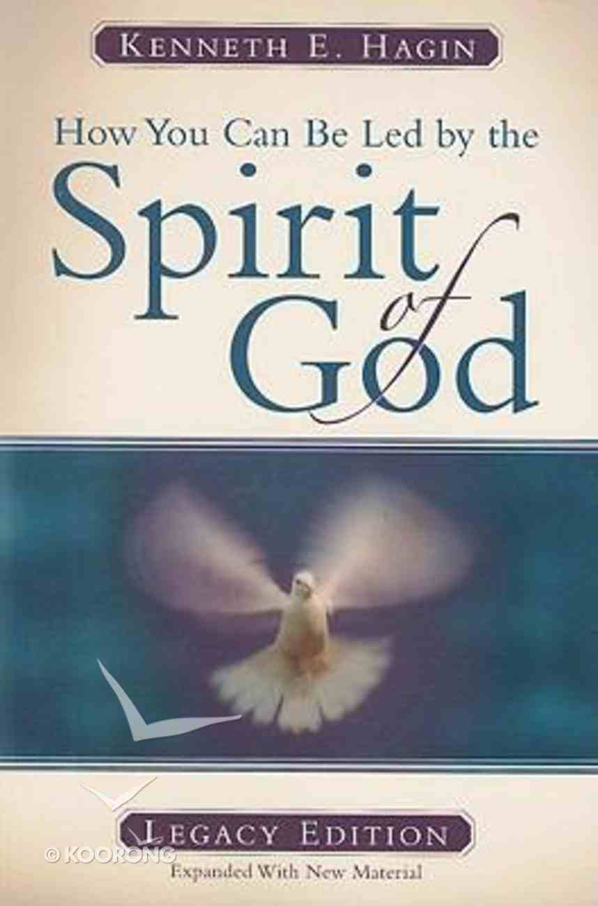 How You Can Be Led By the Spirit of God Paperback
