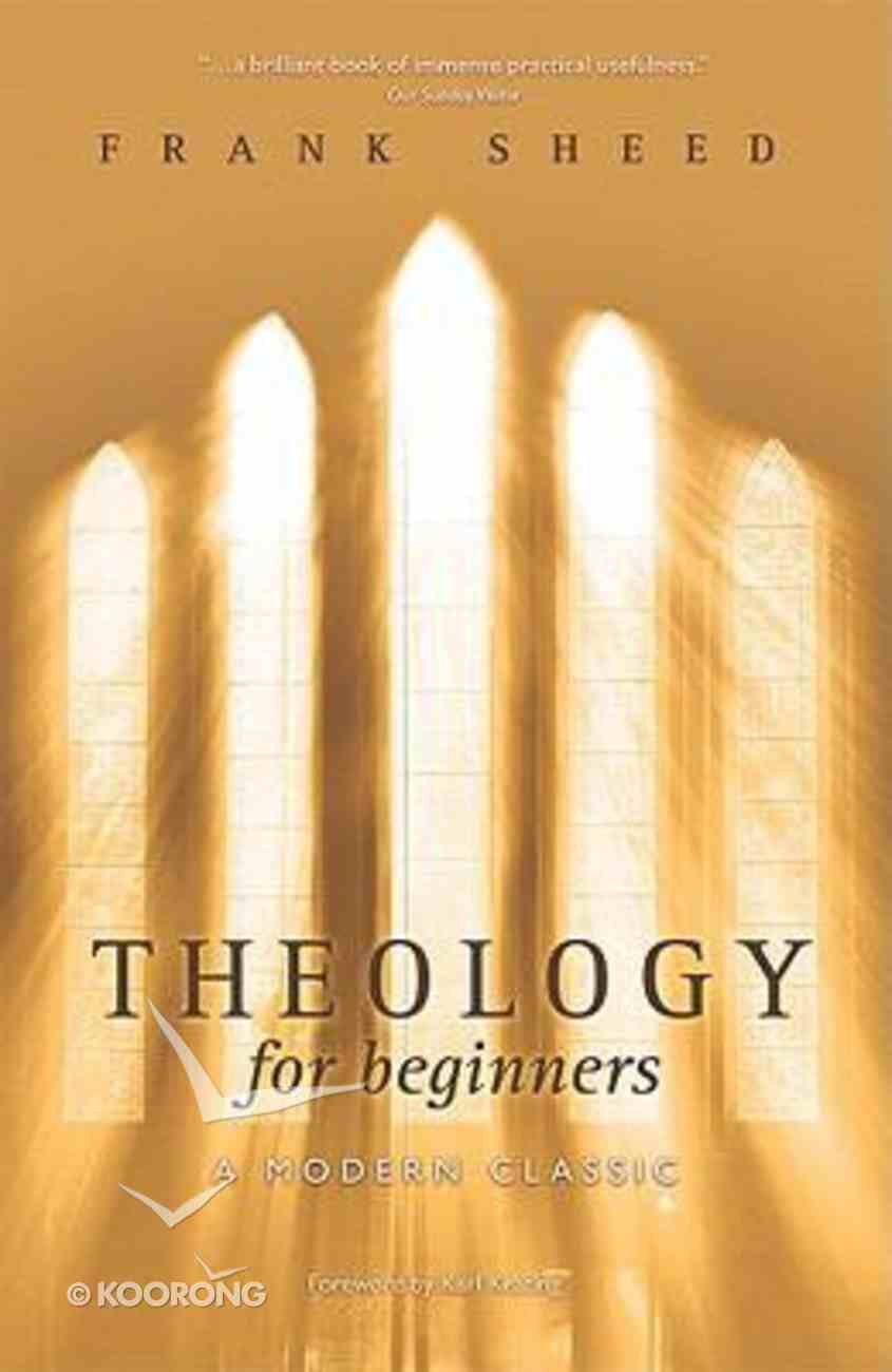 Theology For Beginners (3rd Ed.) Paperback