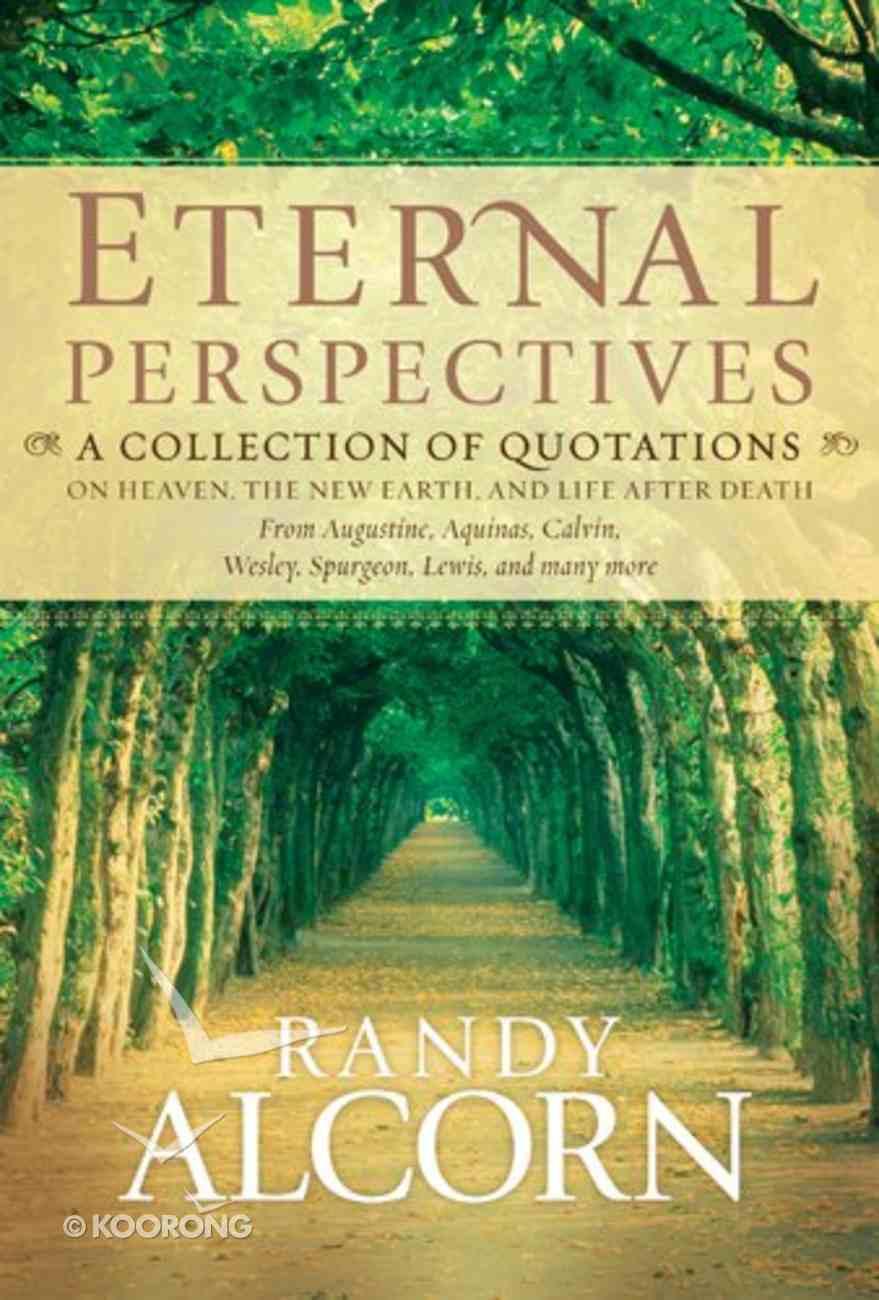 Eternal Perspectives Hardback