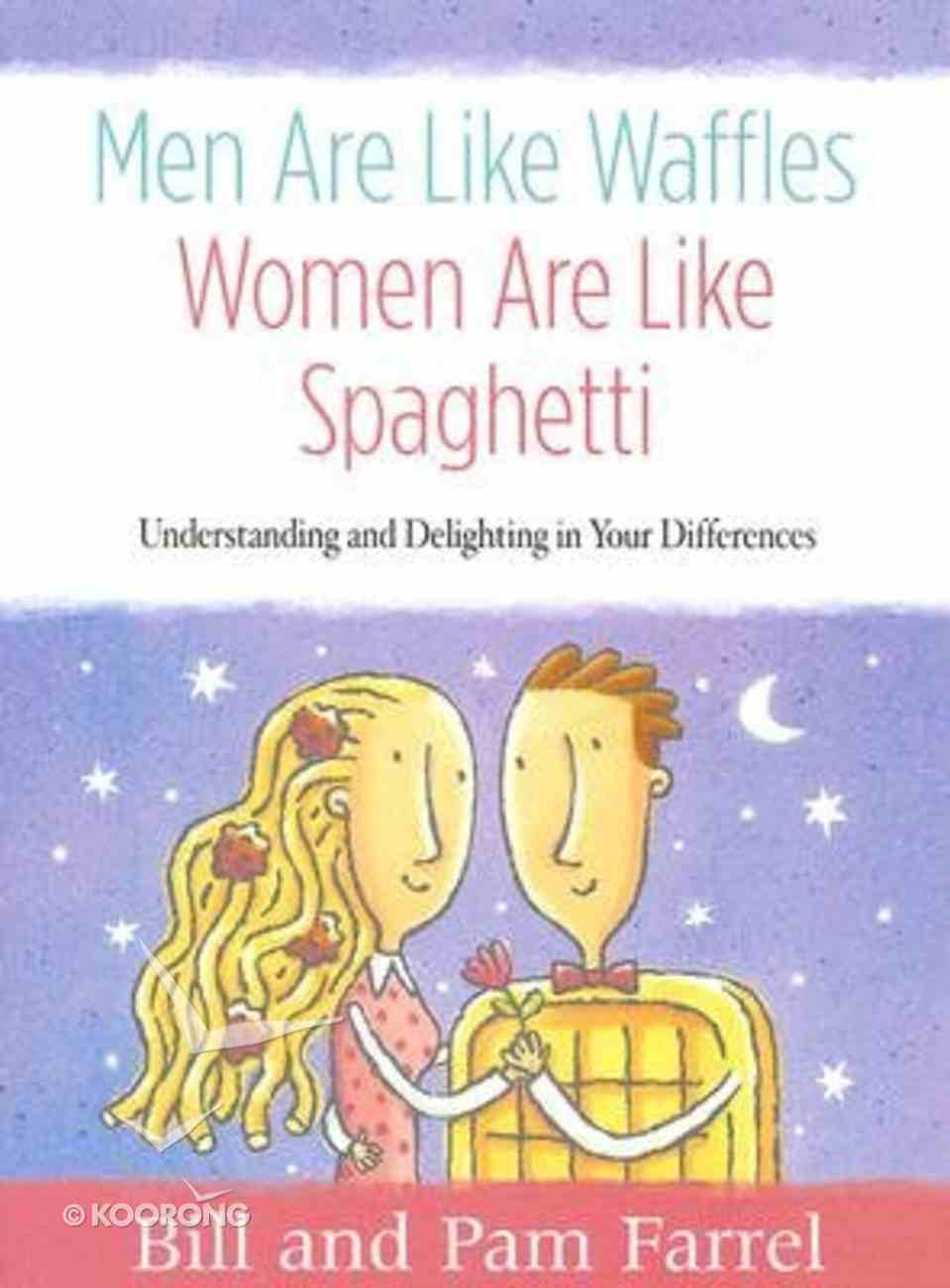 Men Are Like Waffles, Women Are Like Spaghetti (Member Book, 7 Sessions) Paperback